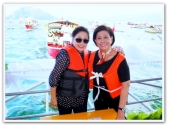 MEMORABILIA - Vi with Mother Lily in a boat