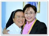 MEMORABILIA - Vi with nuns at St Marys 1