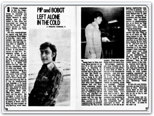 ARTICLES - Pip and Bobot Left Alone in The Cold