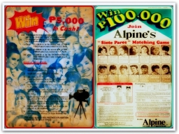 MEMORABILIA - 1970s Selected Wakasan Magazine and Alpine Ads