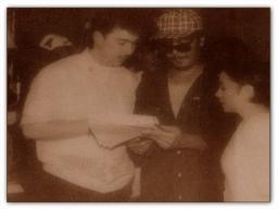 MEMORABILIA - Vi with Carlo Caparas