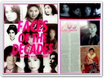 ARTICLES - Faces of the Decades