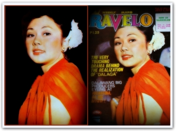 ARTICLES - Vi in the cover of Ravelo July 1978
