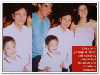ARTICLES - Vi with Aga Muhlach, Charlene Gonzales and Ryan Recto